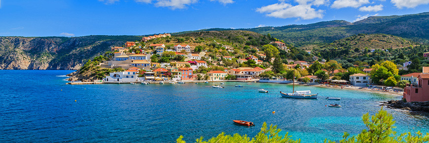 Accommodation in Kefalonia